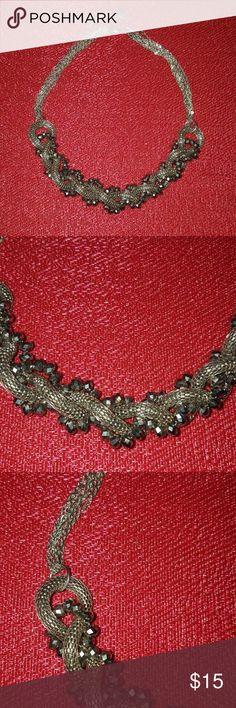 Alfani chain crystal necklace Necklace Alfani Jewelry Necklaces