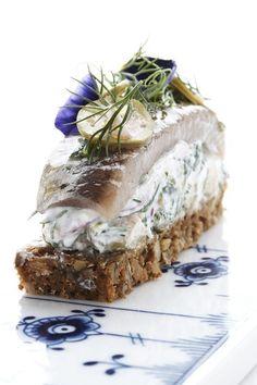 The Royal Café, Deens smörrebröd in sushiformaat