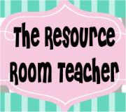The Resource Room Teacher.. A special education blog written by a K-5 resource center teacher