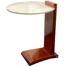 End Table by Jules Leleu, circa 1930's | From a unique collection of antique and modern side tables at http://www.1stdibs.com/furniture/tables/side-tables/