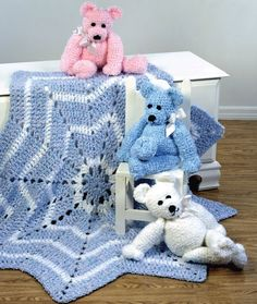 Merry-Go-Round Blanket & Teddy Bear