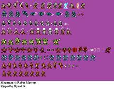 Mega Man 4 - Robot Masters