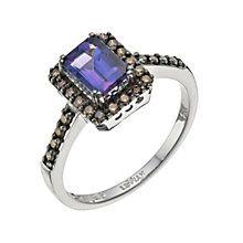 Le Vian 14ct Vanilla Gold diamond & Blueberry Tanzanite ring - Product number 9757767