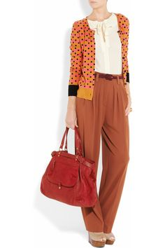 Sonia by Sonia Rykiel. I feel good about these pants. I knew Katherine Hepburn was coming back.