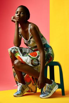 #multifaceted ole morapedi ice models johannesburg hair and makeup kelly-jean gilbert  production and styling melissa maxted-henderson  editorial shot for runwayonline.co.za  #color #vibrant #studio #clean #fashion #afro #africa #southafrica #designer
