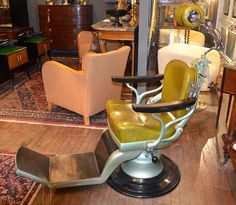 Anthony Redmile Interiors | Interiors 1950's Dentist chair by Sterling