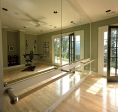 A dance room would be my biggest dream