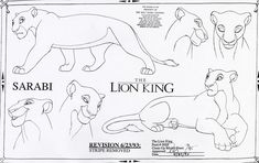 To celebrate the anniversary of The Lion King, we dug into the archives at Walt Disney Animation Studios and found several pieces of art to share. Disney Character Sketches, Disney Sketches, Disney Drawings, Drawing Disney, The Lion King 1994, Lion King Fan Art, Disney Concept Art, Disney Art, Lion King Drawings