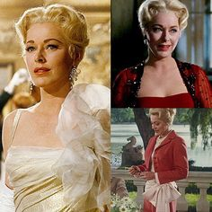 Can I just say how much I love the Baroness Shraeder from The Sound of Music? You can save your collective boos by letting me clarify that I absolutely adore Maria! I'm just saying though, just look at her! Eleanor Parker did the character justice. So refined and graceful, not to mention absolutely stunning. And her outfits were just to die for. One word: ballgown  Obviously she did the right thing in the end, but honestly, who can really blame her? I'd fight for the captain, myself