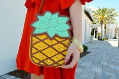 The Perfect Pineapple Handbag