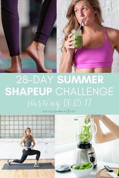 Join in on this GHU x NourishMoveLove 28-day summer shape up challenge lead by fitness & nutrition blogger experts Lindsey and Chris! This 28-day challenge will have you feeling fit, looking great, and ready for summer!