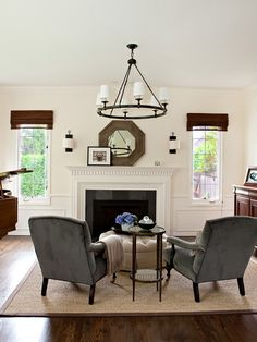 2017 Paint Color Ideas: Benjamin Moore Navajo White on walls White Dove on trim