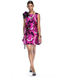 Straight Jacquard Dress - Women - Online Store - Spring/Summer 15 Women. Worldwide delivery