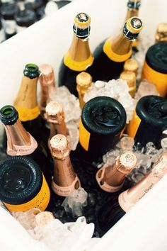 there's never too much champagne!