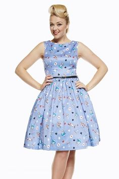 Alice+In+Wonderland+Audrey+Dress