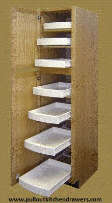 Shell out a few bucks in order to buy best quality cabinet sliding shelves. With these, you can easily convert your kitchen drawer to sliding shelves.get more details at http://www.pulloutkitchendrawers.com/