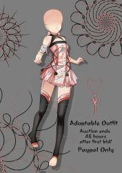 [CLOSED-Auction] Adoptable outfit by Eggperon on DeviantArt Dress Ideas, Art Ideas, Favorite Things, Auction, Design Inspiration, Deviantart, Outfit, Artist, Anime