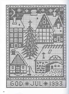 Gallery.ru / Фото #77 - рождество - EditRR Cross Stitch Tree, Cross Stitch Bookmarks, Cross Stitch Alphabet, Cross Stitch Charts, Cross Stitch Embroidery, Cross Stitch Patterns, Cross Stitch Christmas Ornaments, Christmas Embroidery, Christmas Cross