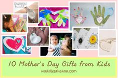 10 Favorite Mother's Day Gifts, Crafts, Books and Activities from waddleeahchaa.com