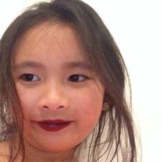 Hi I am wearing  the Mac media lipstick.