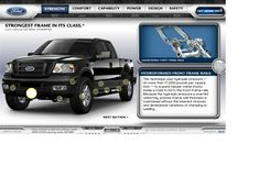 Look at how Ford website looked in 2003 and travel with us through the history of web design. Design Museum, Web Design, Ford, Design Web, Website Designs, Site Design