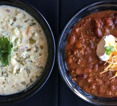 Do you prefer RED or WHITE?  Introducing Green Chile Chicken Chili