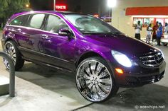 Car Fail - PIMP & PURPLE Mercedes R-Class