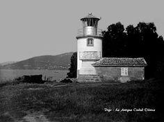 Foto de Vigo, La Antigua Ciudad Olívica El faro de la Guía en los años 20.