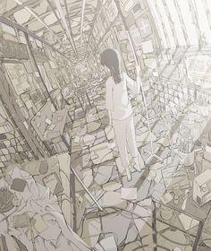 「退嬰的ホスピタル」/「へびつかい」のイラスト [pixiv]