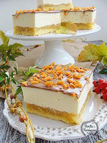 Wanilia i Kardamon: Serniko-szarlotka Apple Cake Recipes, Cheesecake Recipes, Dessert Recipes, Polish Desserts, First Communion Cakes, French Desserts, Homemade Cakes, Christmas Baking, No Bake Cake