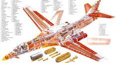 B-1 Lancer drawings | 1B Lancer Supersonic Bomber USAF