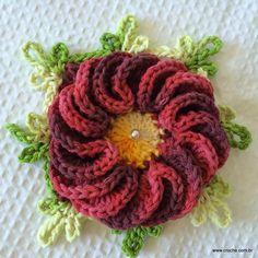Flor anelada passo a passo - www.croche.com (52)