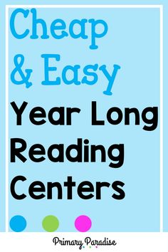 Hands on, diy reading and writing centers that you can use all year! These centers are easy to differentiate, fun for students, and meaningful as well! Guided Reading Organization, Guided Reading Activities, Guided Reading Lessons, Teacher Organization, Teacher Hacks, Word Work Centers, Reading Centers, Reading Workshop, Writing Centers