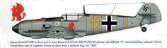 Messerschmitt Bf 109E, 9.JG 26 by Artur Beese