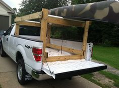 Howdy Ya Dewit!: Easy Homemade Canoe, Kayak, Ladder and Lumber Rack for Your Pickup Truck