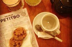 Un pancake y un café en Granja Petitbo