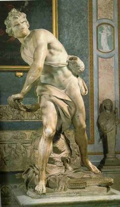 Bernini's David is SO much better than Michelangelo's! Seeing this at the Borghese Gallery in Italy is on my bucket list.