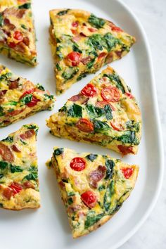 Frittata Recipe {Easy Oven Method} - Cooking Classy Frittata Recipe (Bacon, Spinach, Tomato and Swiss) Best Frittata Recipe, Frittata Recipes, Lasagna Recipes, Egg Recipes, Brunch Recipes, Cooking Recipes, Recipes Using Bacon, Fresh Spinach Recipes, Dinner Recipes