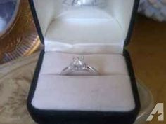 Diamond Engagement Ring .62 carat - $1200 (Philadelphia)