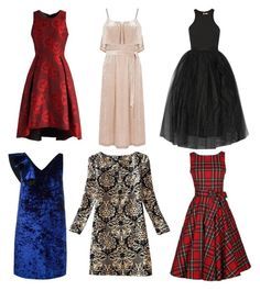 xsmas dress by thestyletrainer on Polyvore featuring moda, Elizabeth and James, MSGM, Chicwish and Warehouse