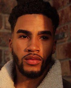 Sharing photos of black men to combat the erasure in the beard movement. Hot Black Guys, Black Boys, Hot Guys, James Harden Haircut, Black Men Beards, Black Men Haircuts, Beard Humor, Men Quotes, Athletic Men