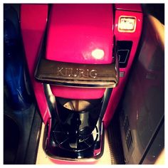 Hot Pink #Keurig - OMG, I so so want this! PS. All #HotPink lovers (not Mary Kay pink please) lets start gifting each other hahaha hahaha... Pink Love, Pretty In Pink, Hot Pink, Hahaha Hahaha, Barbie, Pink Bling, Everything Pink, Keurig, Queen