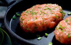 Fašírky z lososa Lidl, Trout, Food Hacks, Salmon, Grilling, Ale, Food Porn, Food And Drink, Favorite Recipes