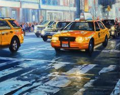 Realist oil NYC paintings and artist's new series with nature and botanicals New Series, New York City, Nyc, Times, Studio, Night, Canvas, Nature, Artist