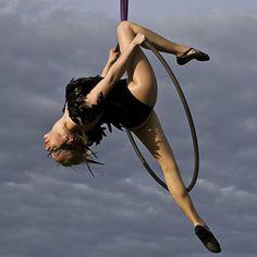 Aerial Hoop Show