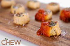 Clinton Kelly's Ricotta, Mozzarella, and Spinach Bites #TheChew