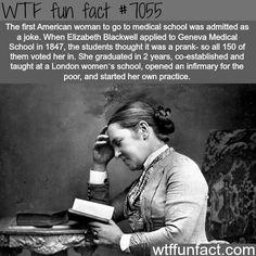 Elizabeth Blackwell - WTF fun facts