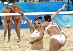 mitty-->stanford-->medalist -- Kerri Walsh (and Misty May)