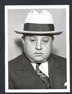 """Jake """"Greasy Thumb"""" Guzik was the financial and legal advisor, and later political """"greaser,"""" for Al Capone's Chicago Outfit. Real Gangster, Mafia Gangster, Chicago Outfit, Legal Advisor, Al Capone, Wishing Well, American History, 1920s, Old School"""