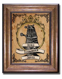 Doctor Who - Dalek Extermination Poster - Available in multiple sizes: 11x14, 8x10, and 5x7, (inches)